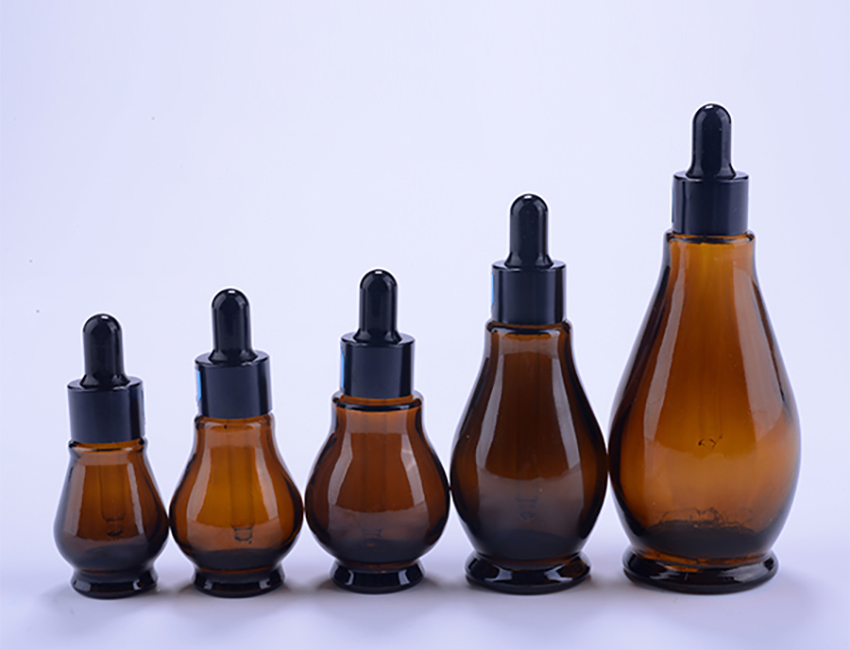 Amber Glass Essential Oil Bottle