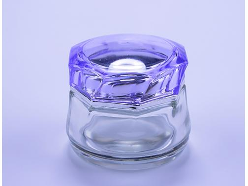 Glass Cosmetic Jars